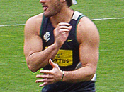 Brendan Fevola at training
