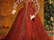 An early full-length portrait of Elizabeth I by Steven van der Meulen, c. 1563