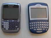 RIM BlackBerry 8700c and 7230