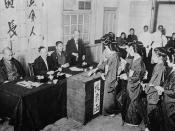 English: Women in Japan voting