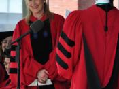 English: Meryl Streep receiving honorary degree from Harvard University. Harvard Commencement 2010