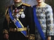 Shah and his queen Farah