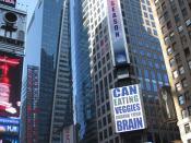 English: 3 Times Square, as seen from 43rd and Broadway