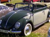 Volkswagen Type 1 Cabriolet 1953.