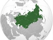 Map of Customs Union of Russia, Belarus, Kyrgyzstan and Kazakhstan