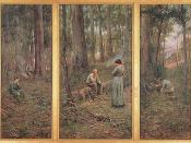 The pioneer by Frederick McCubbin (1904) at the National Gallery of Victoria
