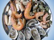 Nederlands: Plateau van zeevruchten