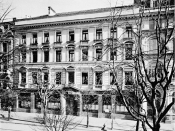 English: Original Zurich branch of the Swiss Banking Association (later Union Bank of Switzerland) at Bahnhofstrasse 44