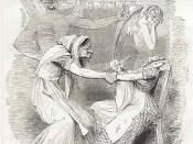 English: Punch Cartoon from 1843 criticizing the Poor Law
