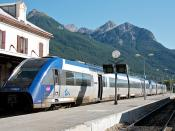 Regional 17428, Estação de Briançon, 2011.07.24