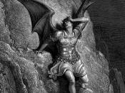 Gustave Doré, Depiction of Satan, the antagonist of John Milton's Paradise Lost c. 1866