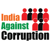 English: India Against Corruption HQ logo