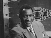 Paul Robeson,American actor, athlete, bass-baritone concert singer, writer, civil rights activist, Spingarn Medal winner, and Stalin peace prize laureate.
