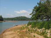 English: Lake Lanier at River Forks Park in Gainesville, Georgia