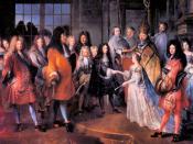 Mariage du Duc de Bourgogne, Louis de France (1682-1712).