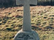 grave of Sir Arthur Conan Doyle