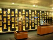 NCAA National Championship trophies, rings, watches at UCLA.