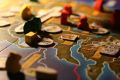English: Part of the A Game Of Thrones board game in progress.