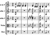 Mozart used polytonality in his A Musical Joke for comic effect.