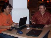 English: BoT and BoE financial statement 2010 meeting. Yogya Bogor Junction, Bogor, Indonesia.