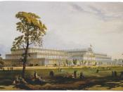 The Great Exhibition of 1851 was housed in the Crystal Palace in Hyde Park, London.
