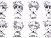Русский: Картинка эмоций к русскоязычной статье об Аниме. Оригинал: Manga_emotions-EN.jpg