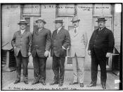 Urey Woodson, KY; N.E. Mack, Buffalo; Robt. Crain, Baltimore; Roger Sullivan, Chicago; E.O. Wood, Mich  (LOC)