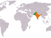 Pakistan India Locator
