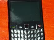 Español: Blackberry Curve 8520