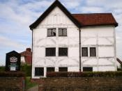 Queen Elizabeth's Hunting Lodge, Chingford, England, dates back to Tudor times, although it has been heavily altered over time. The building is open to the public. I took this photo myself and am releasing it into the public domain. After all, I didn't de