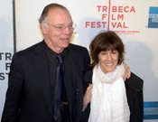 English: Nicholas Pileggi and Nora Ephron at the 2010 Tribeca Film Festival.