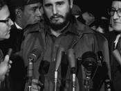 Fidel Castro becomes the leader of Cuba as a result of the Cuban Revolution
