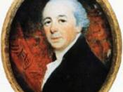 Painting of British architect John Nash (1752-1835).
