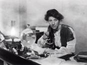 English: Author unknown (image is more than 100 years old). Source: Marie Stopes International Australia (my employer). This image is able to be used to further understanding about Dr Marie Stopes, her work and the organisation/its work. It can also be us