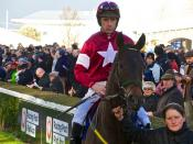 Davy Russell aboard Ally Cascade