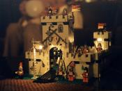 Electrified Lego Castle