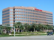 English: Burger King headquarters in unincorporated area Miami-Dade County. Español: La sede del Burger King en el Condado de Miami-Dade
