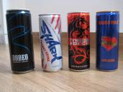 Bunch of Energy drinks