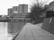 One of the locations for Kubrick's A Clockwork Orange.