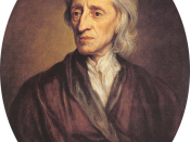 Portrait of John Locke, by Sir Godfrey Kneller. Oil on canvas. 76x64 cm. Britain, 1697. Source of Entry: Collection of Sir Robert Walpole, Houghton Hall, 1779.