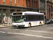 English: NYU shuttle #30620 (owned by Coach USA) operates on Shuttle Route A.