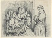 Romeo and Juliet, Act I-Scene_3. Lady Capulet and the Nurse persuade Juliet to marry Paris.