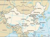 China-CIA WFB Map