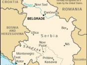 A map of Serbia and Montenegro from the 2000 edition of The World Factbook. Directorate of Intelligence (2000).