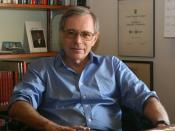 Eric Foner photographed September 2009.