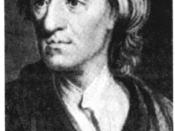 Portrait of John Locke.