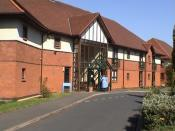 English: Nursing Home in Goldthorn Hill. This area of Wolverhampton has a cluster of nursing homes.
