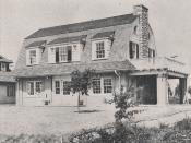 1804 Roxbury Road, Newly Constructed House by F. F. Glass Company, 1918