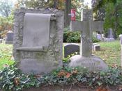 English: The grave of Herman Melville in Woodlawn Cemetery, Bronx, NY