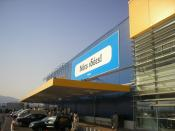 IKEA in Athens, Greece